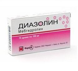 İlaç Diazolin (çocuk) - kullanım talimatları 31